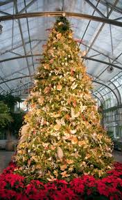 brown christmas tree image pictures of decorated christmas trees lovetoknow