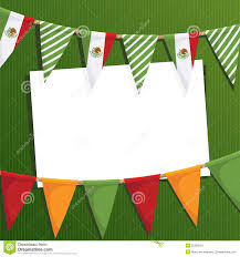 Mexican Party Flags Mexican Party Bunting Stock Vector Image Of Object Flag 25332757