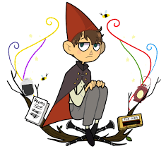 over the garden wall stickers