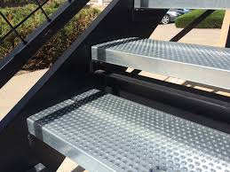perforated stair treads pascetti steel design inc