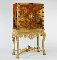 Japanese Bar Cabinet A Charles Ii Cream Lacquer Cabinet On Stand Ca1680 England 64 17