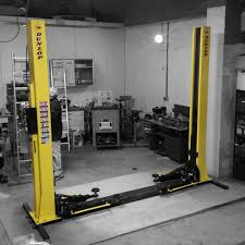 dunlop dl240 4 tonne two post lift electro hydraulic