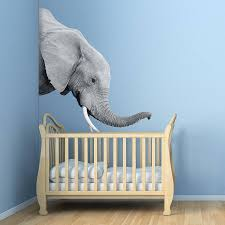 elephant wall sticker by oakdene designs notonthehighstreet com elephant wall sticker