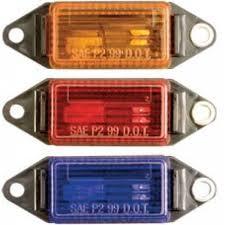Optronics Led Trailer Lights Optronics Mini Marker Clearance Lights Blue Utility Light