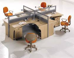 Executive Office Guest Chairs Office U0026 Workspace Wonderful Cubicle Office With L Shape Curve