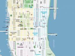 Map Manhattan Download Map Manhattan Major Tourist Attractions Maps