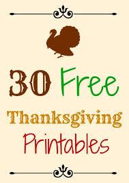 30 free thanksgiving printables free thanksgiving printables