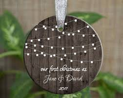 personalized ornament etsy