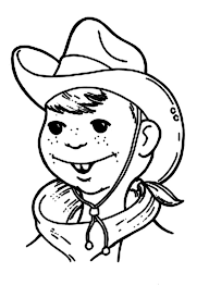 billy the kid cowboy coloring page coloring sun