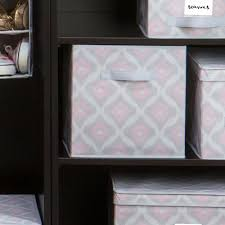 macbeth collection closet candie collapsible fabric storage cube