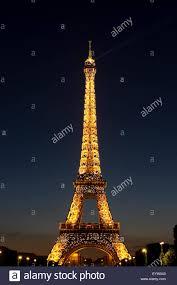 eiffel tower light show eiffel tower light show and spotlight stock photo royalty free