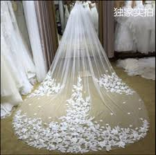 wedding veils for sale floral veil lace ivory online floral veil lace ivory for sale