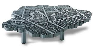 Aluminum Coffee Table 45000 Aluminum Map Of Baghdad Coffee Table Craziest Gadgets