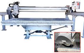 sierra bridge saw stone cutting machine for countertop fabrication