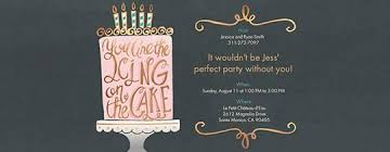 cing birthday party birthday party invitations for evite