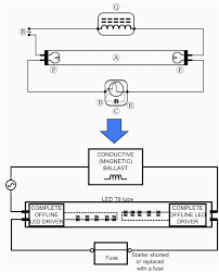 fluorescent lights light ballast wiring diagram stunning ansis me