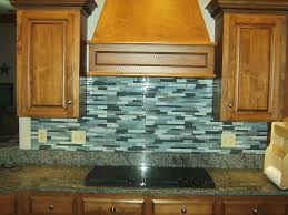 Kitchen Backsplash Blue Glass Tile Kitchen Backsplash Tst Stone Glass Tiles White And