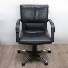 cuir pour bureau fauteuil de bureau en cuir par mario bellini pour vitra 1995 en