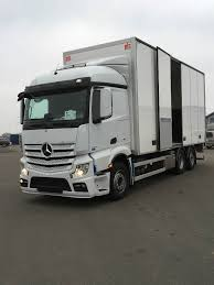 kw box truck used mercedes benz actros 2551 box trucks year 2016 price