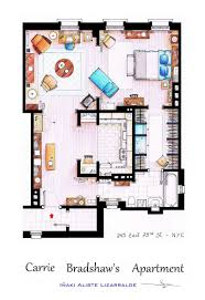 Cannon House Office Building Floor Plan by Detailed Floor Plans Of Tv Show Apartments Twistedsifter