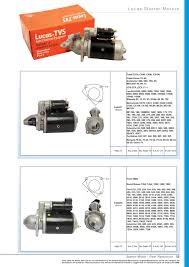 oe new products starter motors page 57 sparex parts lists