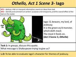 themes in othello act 1 scene 3 othello scheme of work by vikki209 teaching resources tes