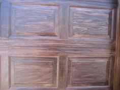 ranch house doors faux wood garage door gel stain color options
