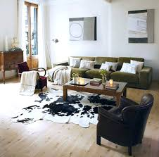 fau livingroom cowhide living room furniture cowhide rug for retro living room