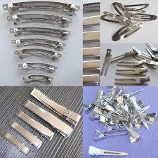 wholesale hair bows 100 pcs wholesale hair alligator clip lined barrettes