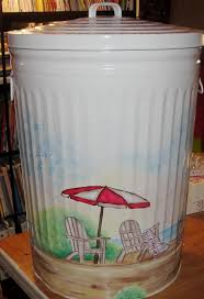 best 25 painted trash cans ideas on pinterest trash can ideas
