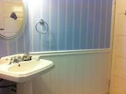 wainscoting ideas bathroom wainscoting installation with beadboard bathroom house design and