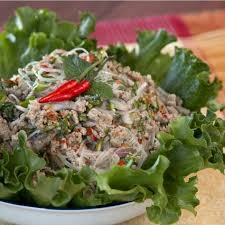 thai pork glass noodle salad recipe tastemade