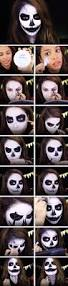 halloween makeup tutorial easy 17 diy halloween makeup tutorials anyone can try gurl com