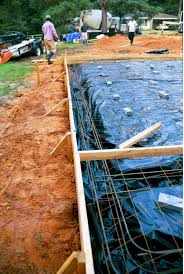 Poured Concrete Home by Pouring The Concrete Slab
