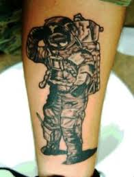 cartoon spaceman tattoo images tattoos pinterest