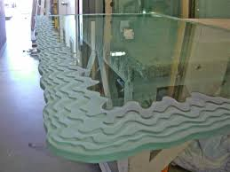 glass dining room glass dining table sans soucie art glass