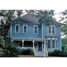 blue house colors bright blue victorian house color idea