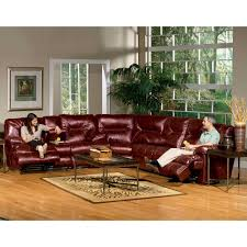 Red Recliner Sofa Power Reclining Sectional Red 6 Pc Sofa Wedge Loveseat 3 Pc