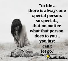 in there is always one special person quotepix