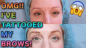 the truth about semi permanent tattooed eyebrows natasha lee