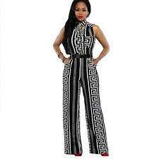 black and white jumpsuit for major suit overalls fashion black white sleeveless stripe