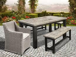 rustic outdoor dining bench u2013 outdoor decorations