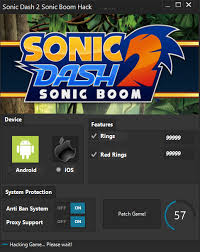 red star rings images Sonic dash 2 sonic boom unlimited red rings hack android apk png