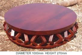 low round coffee table coffee tables kubu crafts