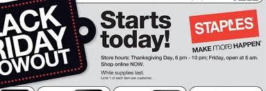 staples to on thanksgiving 2015 bestblackfriday black