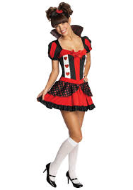 cute halloween costume ideas for teenagers teen sassy queen of hearts costume