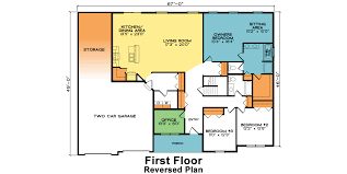 3 Bedroom Plan Rutherford Fine Line Homes