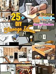 Storage Ideas For A Small Apartment Diy Storage Ideas 25 Clever Space Saving Ideas For Small