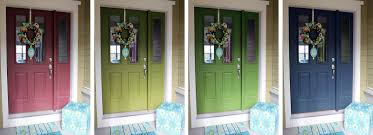 How To Paint An Exterior Door Worth Pinning Changing The Color Of The Front Door