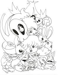 cute pkmn coloring page time by nick is safferion on deviantart
